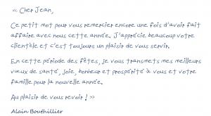 lettres personnelles
